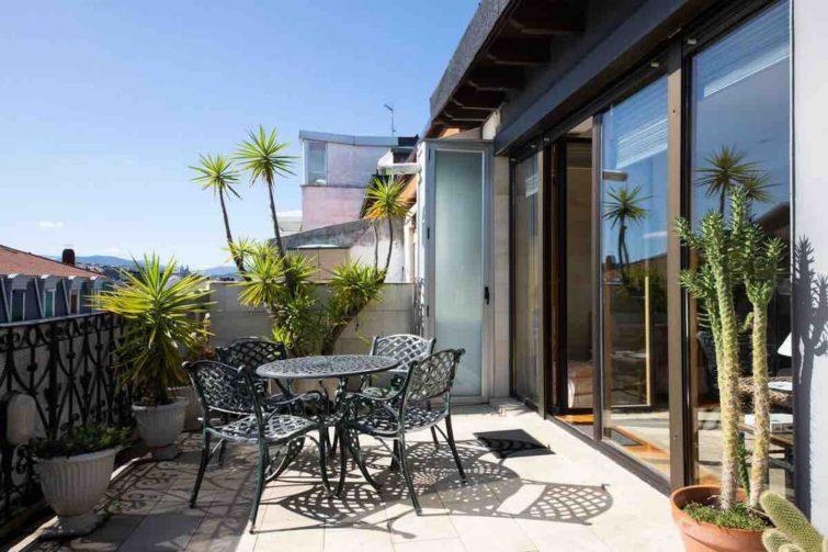Sunny Penthouse with terrace in San Sebastian