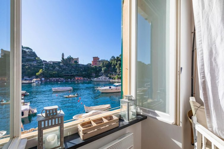 Portofino above the sea | Exclusive seaview flat