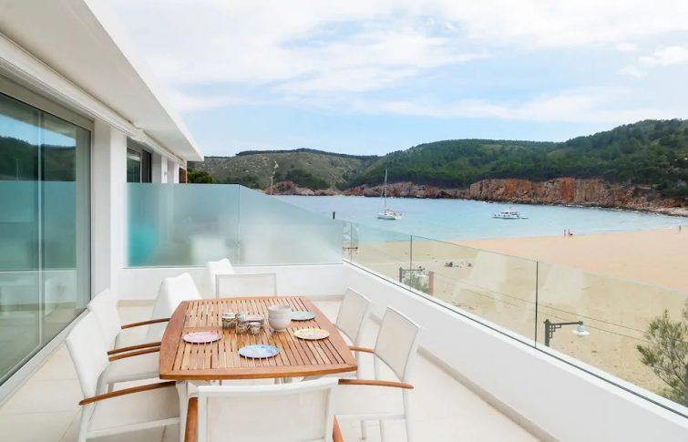 Exceptionnel Duplex sur la plage.