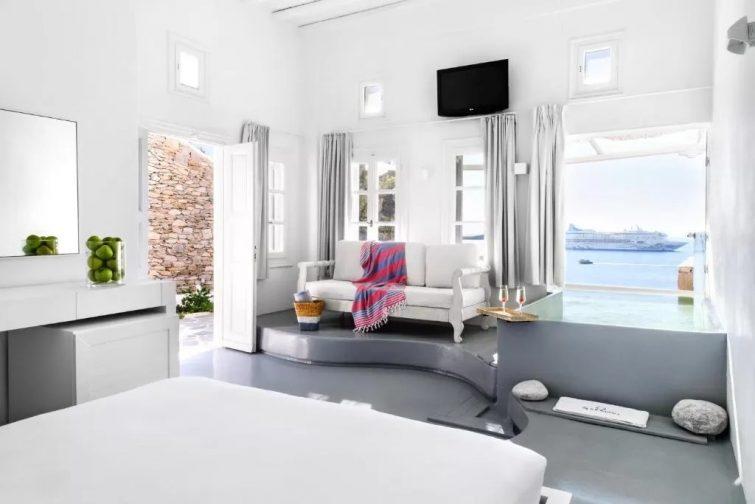 hôtel de luxe Mykonos - Apanema Resort