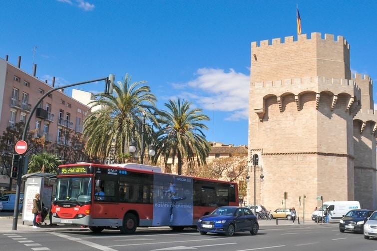 se déplacer à Valence - Bus Valencia