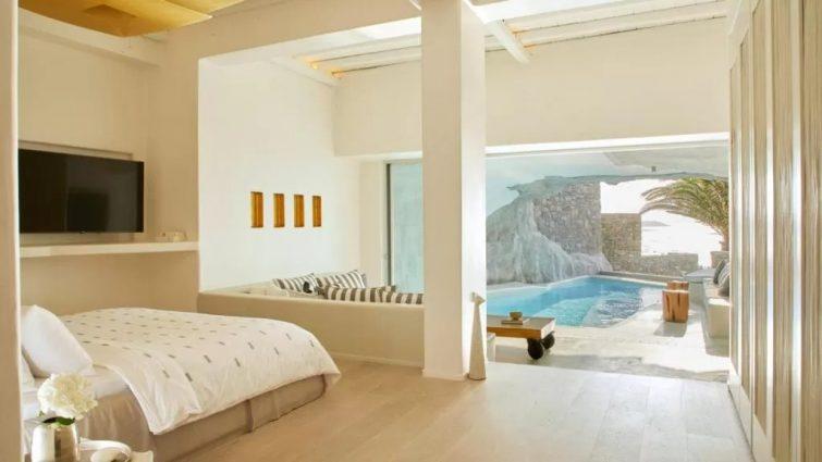 hôtel de luxe Mykonos - Cave Tagoo Mykonos