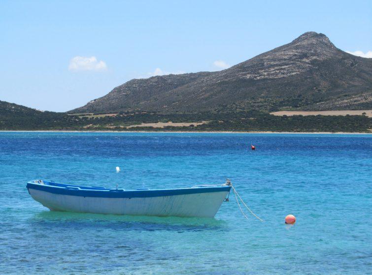 balade bateau paros - Despotiko