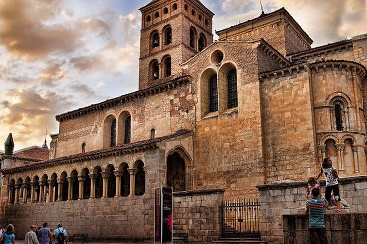 Eglise San Martin Segovie