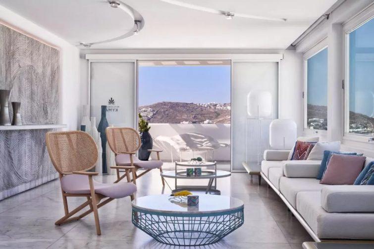 hôtel de luxe Mykonos - Myconian Kyma