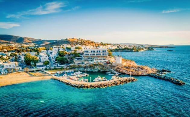 Les 8 meilleures balades en bateau autour de Paros
