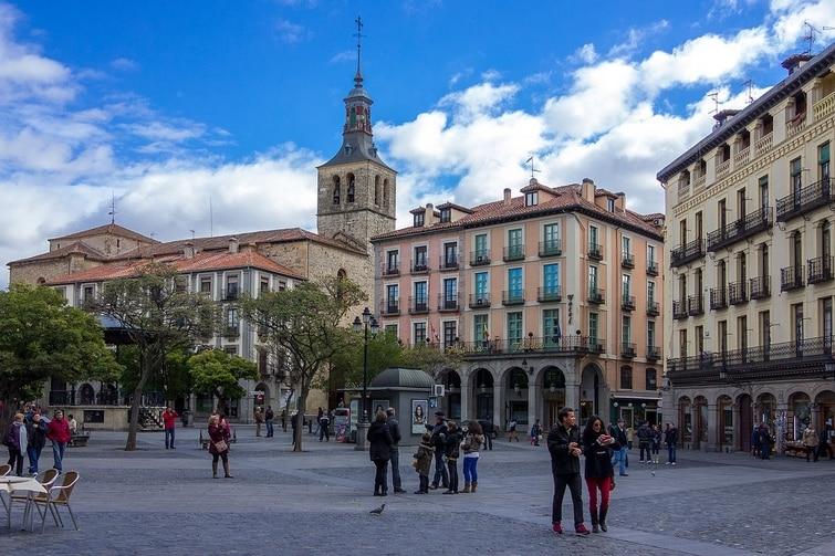 Plaza Mayor Segovie