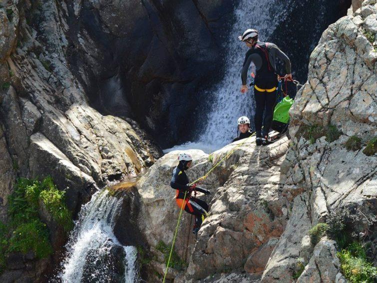 Sa Spendula canyoning-sardaigne