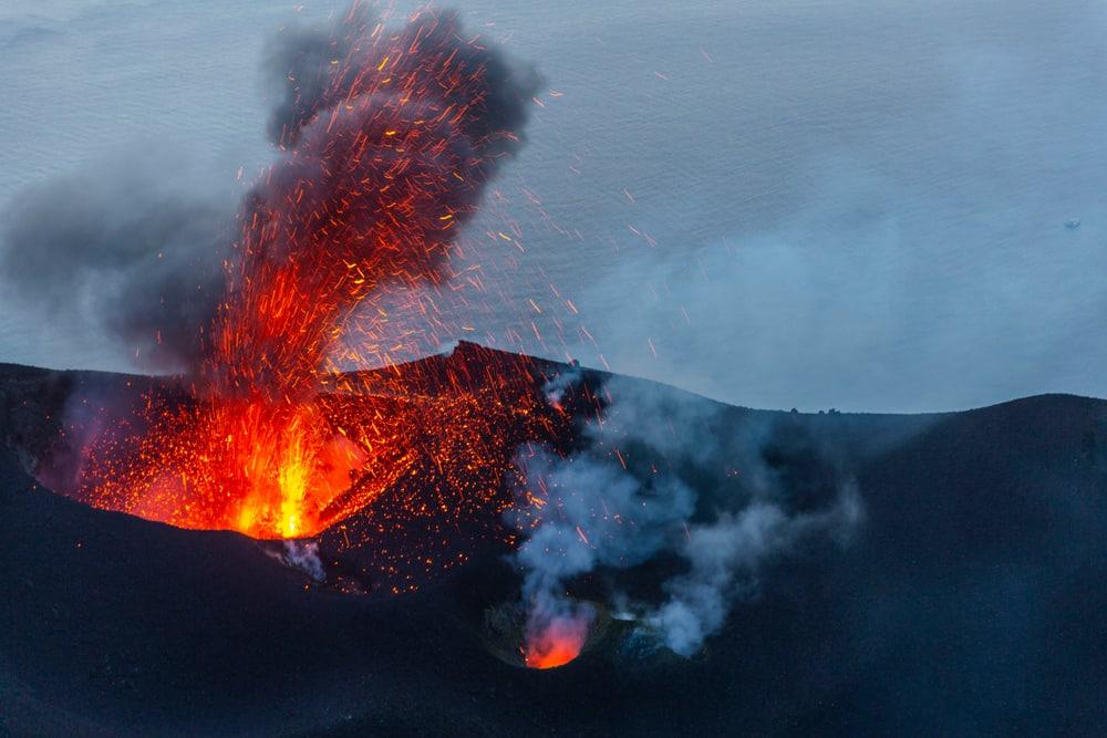 Stromboli éruption