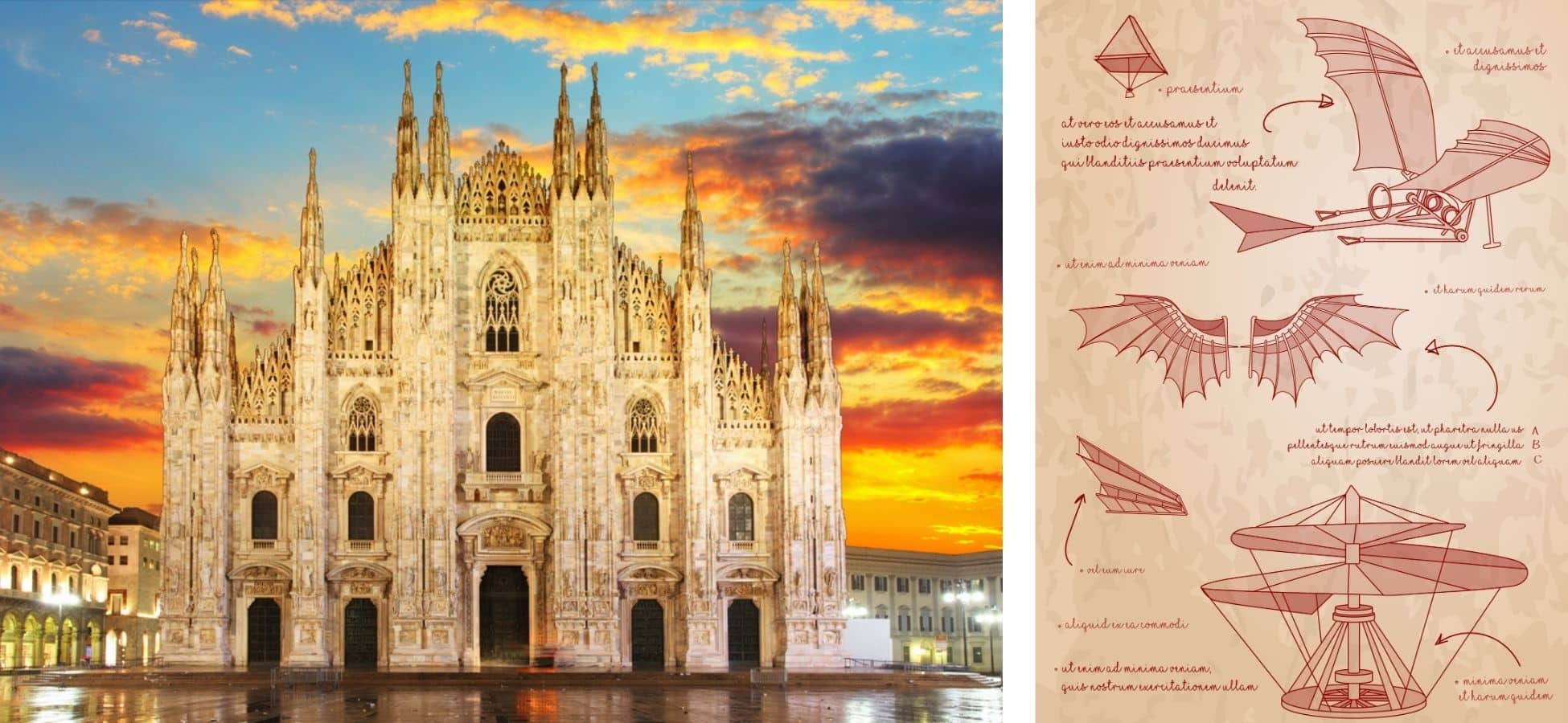 Léonard de Vinci, Italie