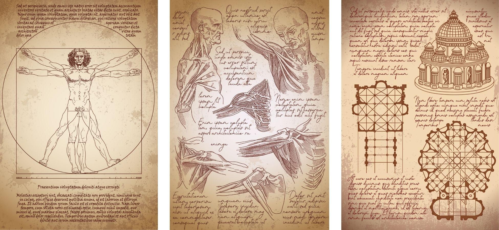 Croquis de Vinci