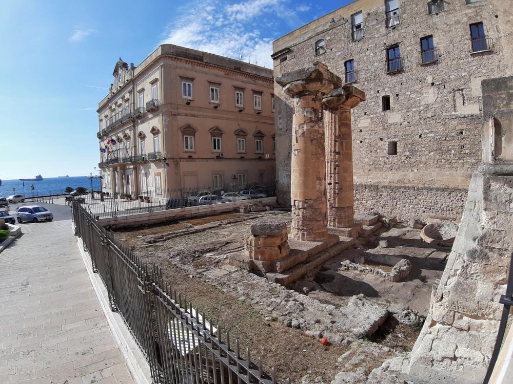 Temple Poseidon Tarente
