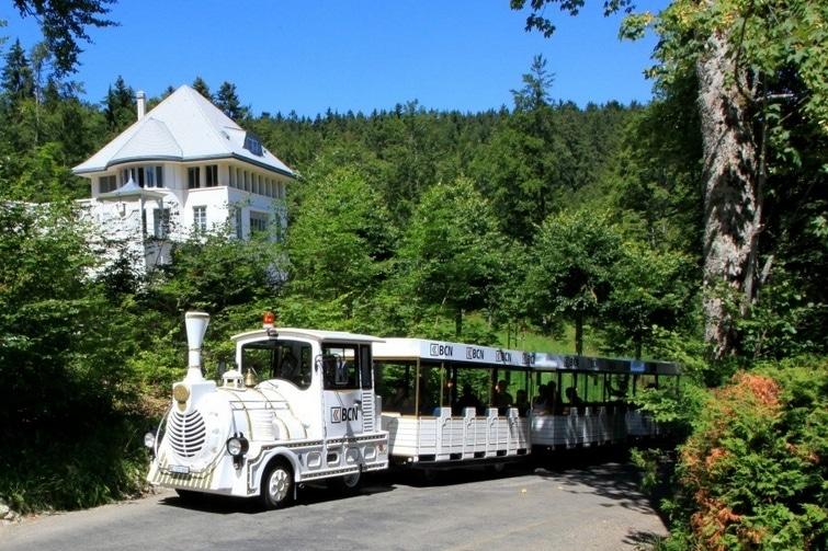Train touristique Neuchatel