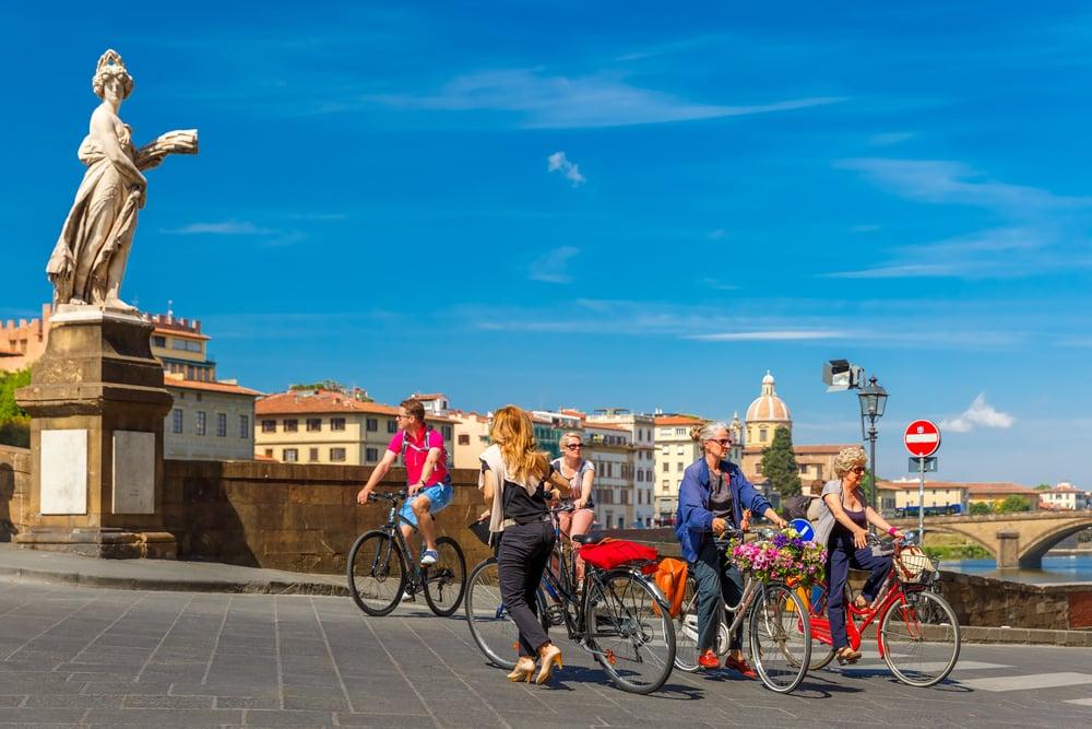 se déplacer à Florence - Vélo Florence