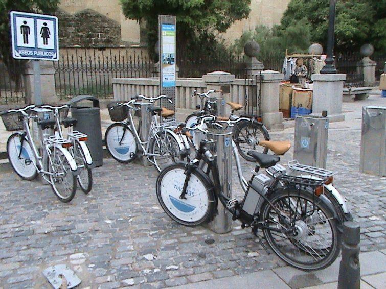 Vélo Segovie