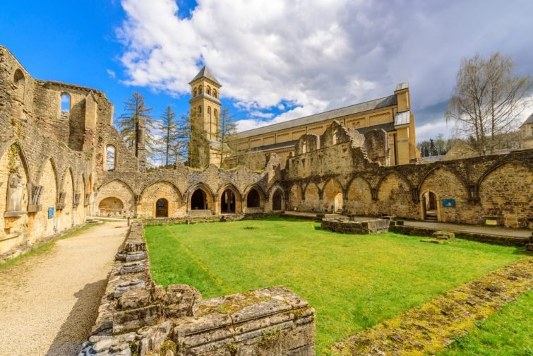 Abbaye Orval visiter Province du Luxembourg