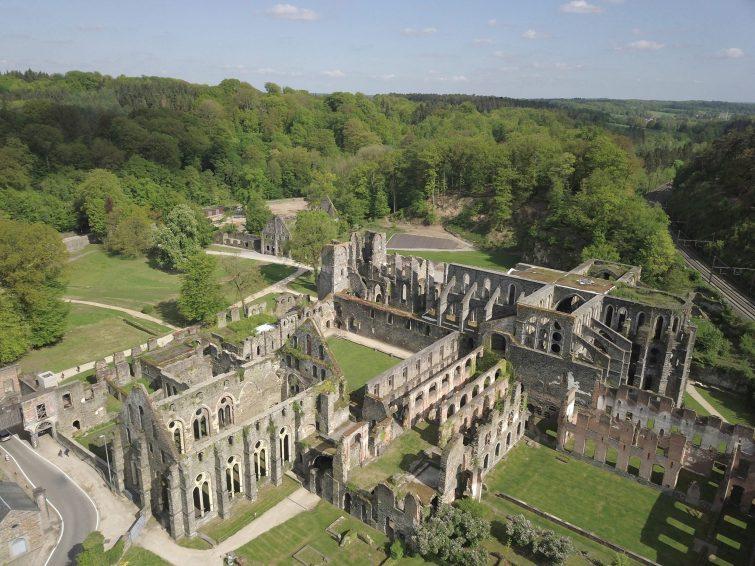 Abbaye de Villers (Villers-la-Ville) visiter la province de Brabant-Wallon