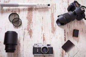 Accessoires photo voyage