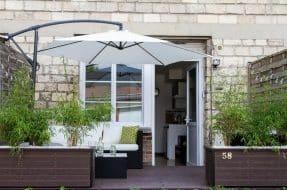 Studio de charme avec terrasse proche centre ville Airbnb Compiegne