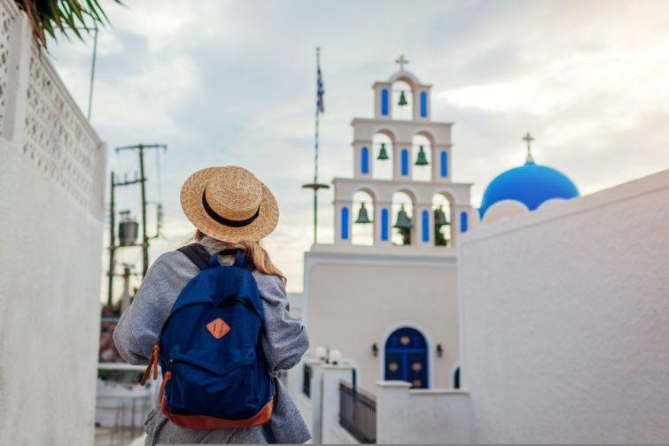 Akrotiri villages de Santorin - transfert entre l'aéroport de santorin et le reste de l'île