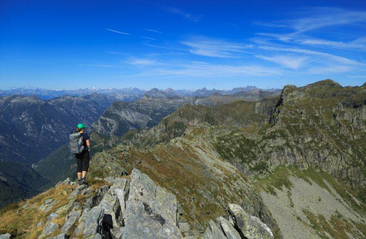 Randonnée Alta Via Suisse