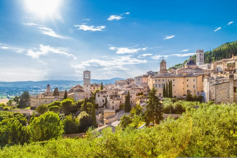 Excursions depuis Rome : assise-visiter-ombrie