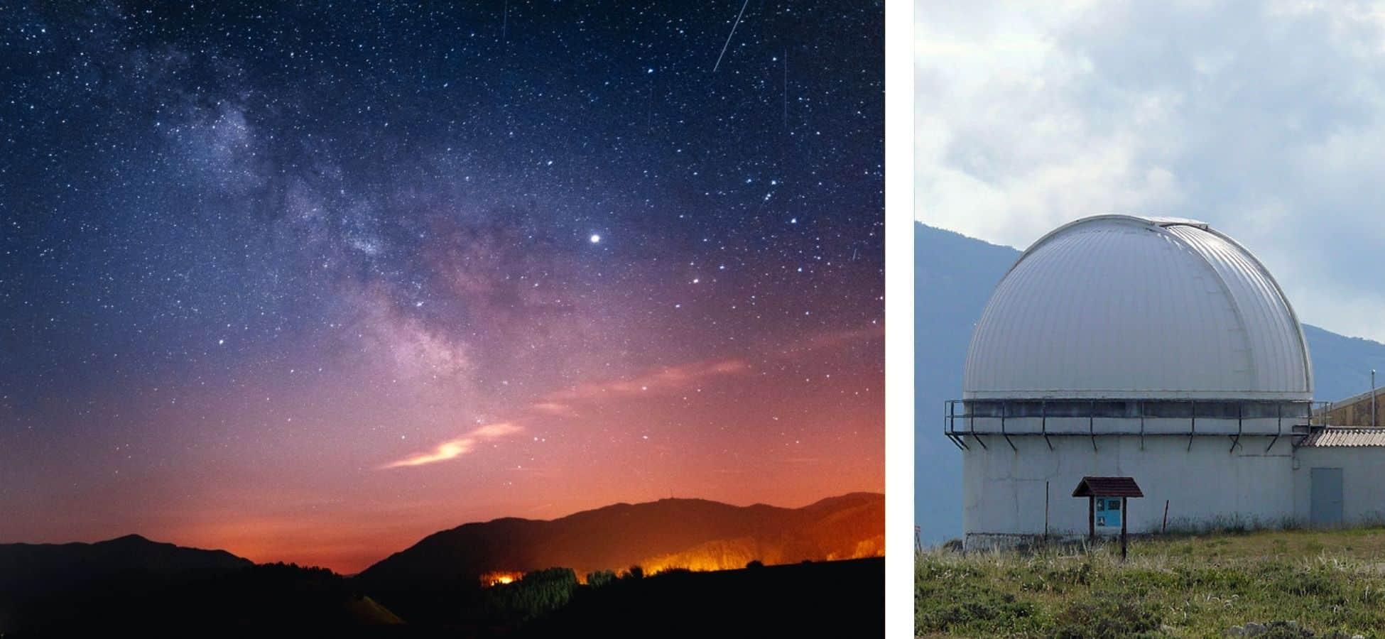 Astrotourisme dans le Mercantour