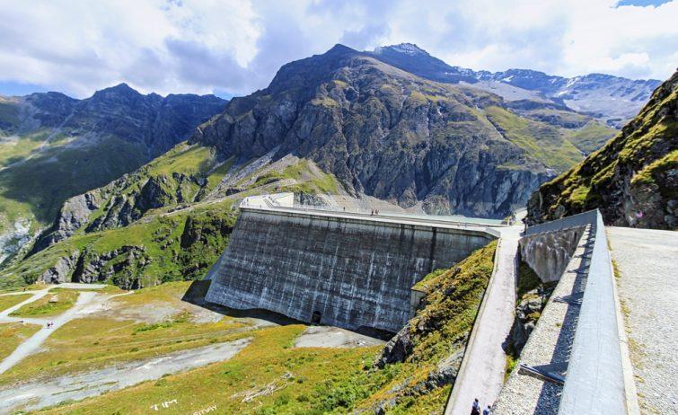 Barrage Dixence Le Valais