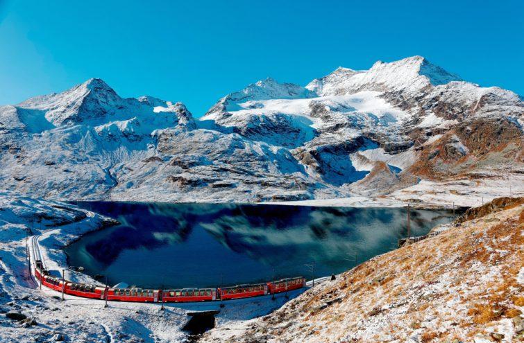 Bernina Express visiter Les Grisons