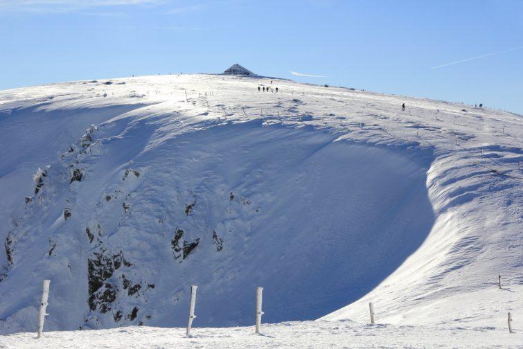 Station de ski des vosges bresse hohneck
