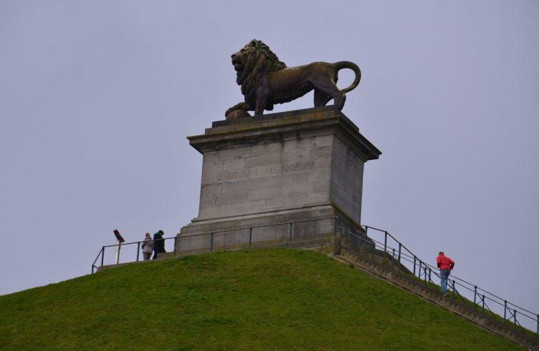 Butte du lion visiter la province de Brabant Wallon