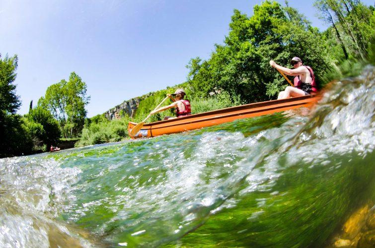 Canoe parc régional Quercy