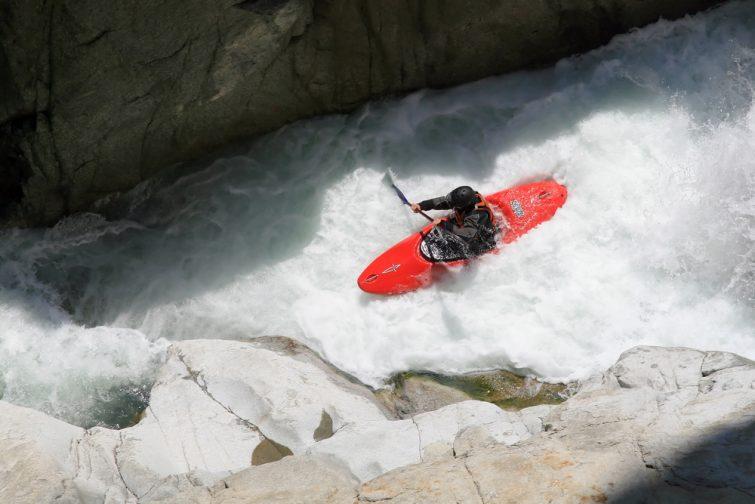 Canoe activité outdoor Wengen