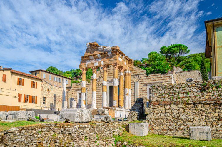 Ruine du capitole Brescia