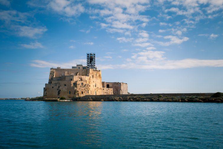 Chateau Alfonsino visiter Brindisi