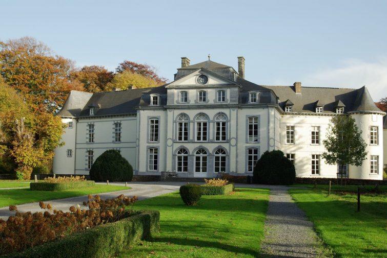 Chateau bois seigneur Isaac visiter province du Brabant Wallon