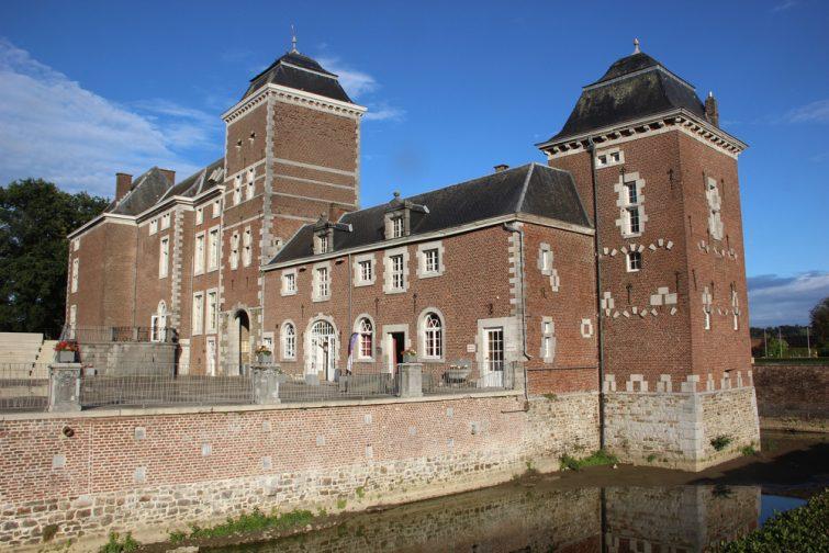 Chateau visiter province de liège