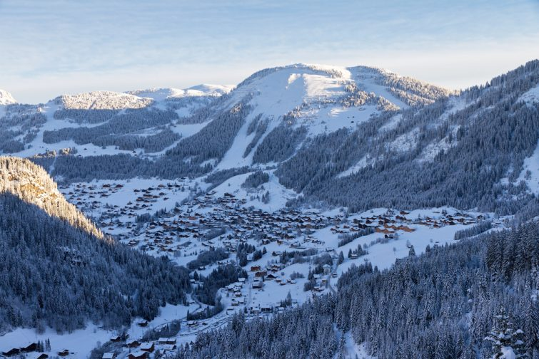 Chatel station de ski Alpes du Nord