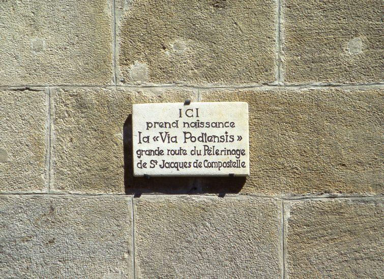 Chemin de Compostelle Puy en Velay