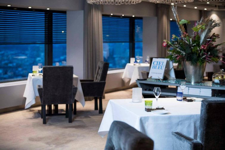 Ciel bleu meilleur restaurant