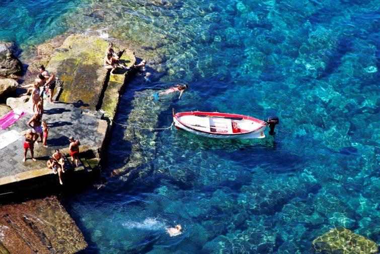 Visiter les Cinque Terre et ses fonds marins