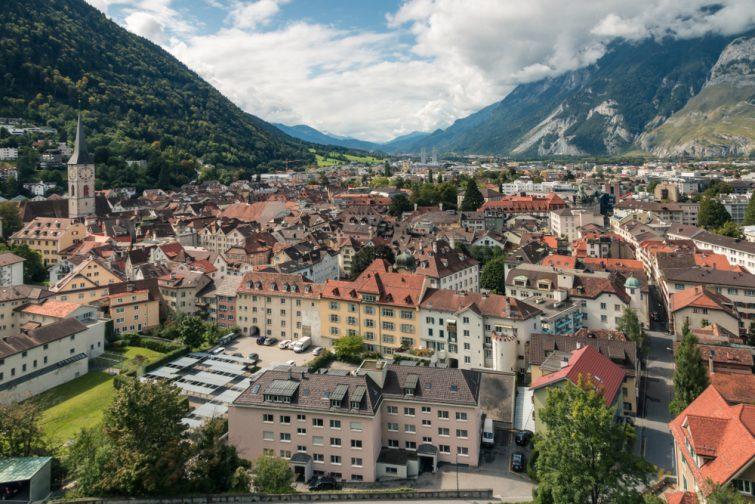 Coire Suisse visiter les Grisons
