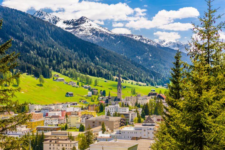 Davos Suisse visiter les Grisons