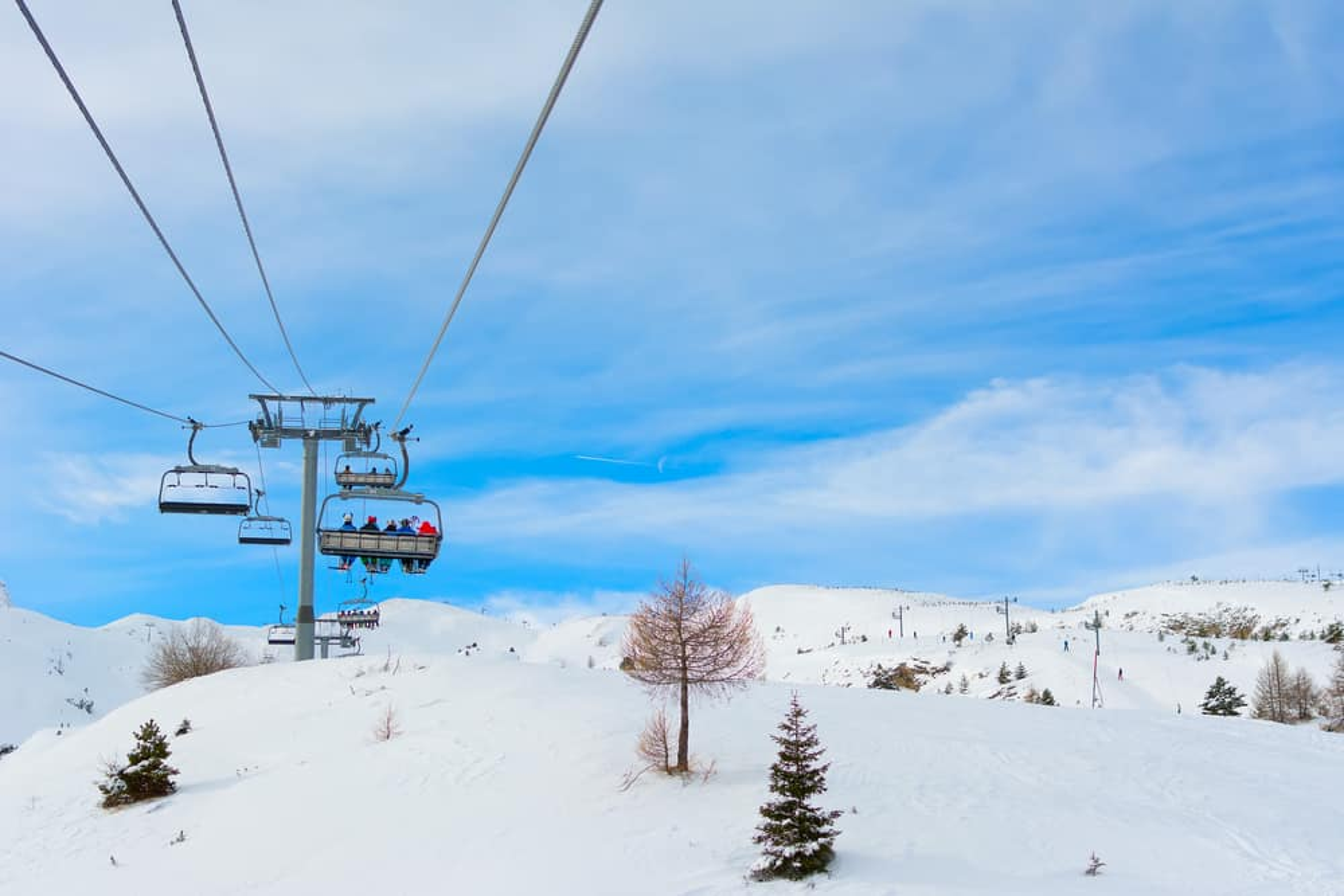 Le devoluy station de ski alpes du sud