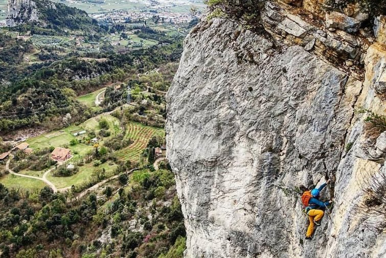 Escalade dans les Dolomites