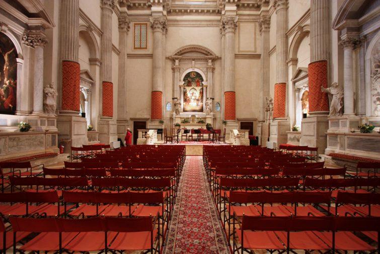 Eglise San Vidal lieu ou voir un opéra à Venise