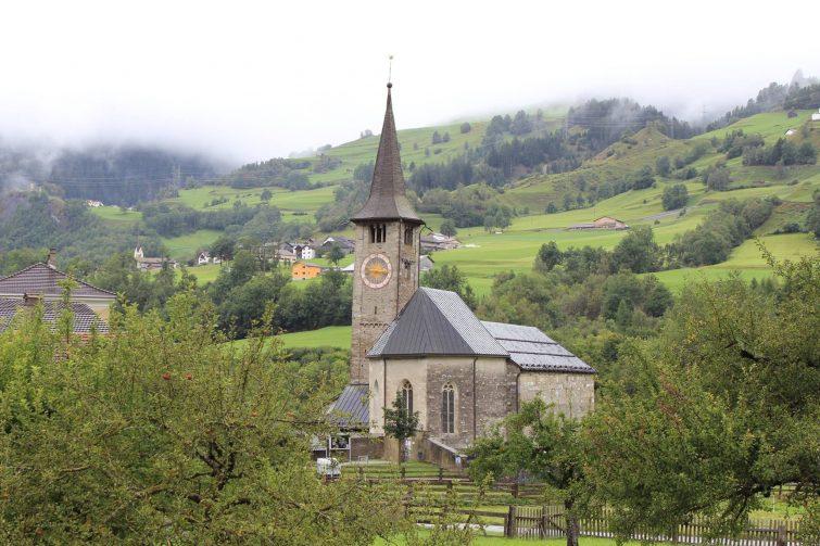 Eglise de Zillis visiter les Grisons