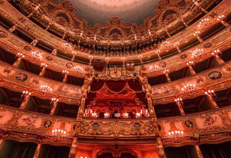 Fenice lieu ou voir un opéra à Venise