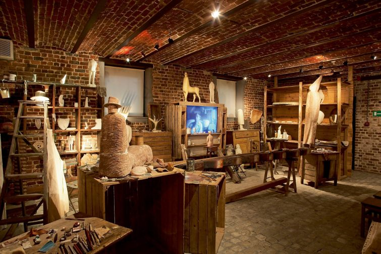 Fondation Folon visiter la province du Brabant wallon