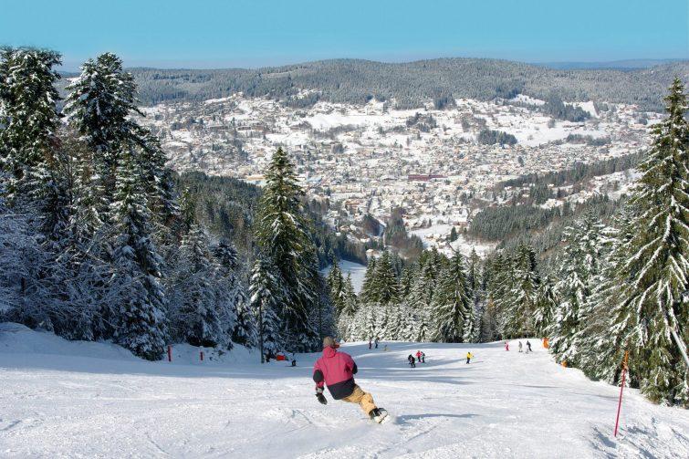 Gerardmer stations de ski des vosges